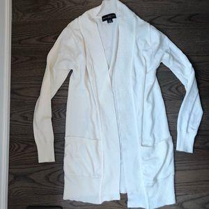 Sweaters - 💖3/$35 basic white cardigan